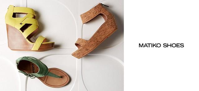 Matiko Shoes at MYHABIT