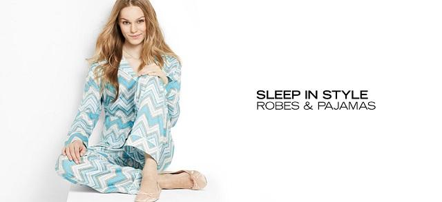Sleep In Style Robes & Pajamas at MYHABIT