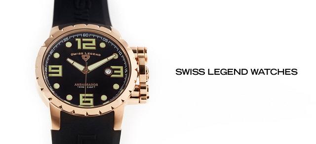 Swiss Legend Watches at MYHABIT