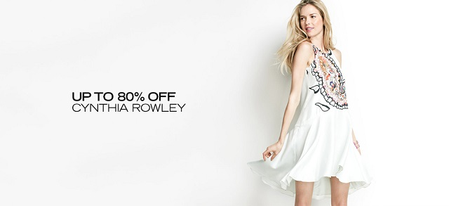 Up to 80 Off Cynthia Rowley at MYHABIT