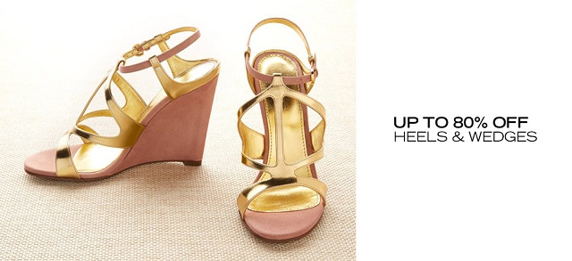 Up to 80 Off Heels & Wedges at MYHABIT