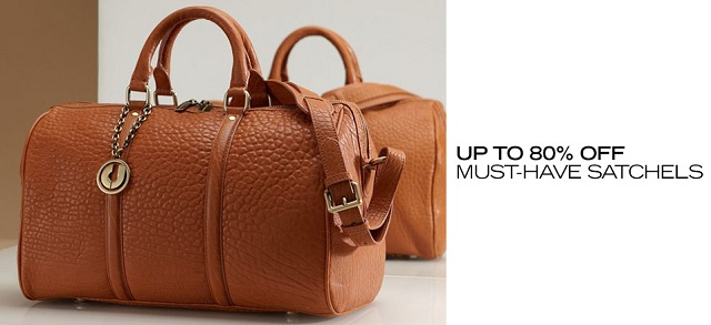Up to 80 Off Must-Have Satchels at MYHABIT