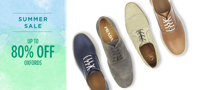 Up to 80 Off Oxfords at MYHABIT