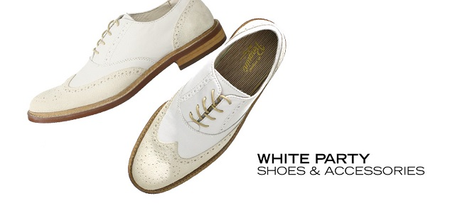 White Party Shoes & Accessories at MYHABIT