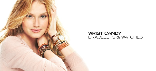 Wrist Candy Bracelets & Watches at MYHABIT