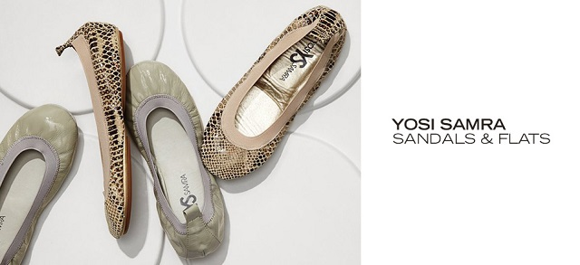 Yosi Samra Sandals & Flats at MYHABIT