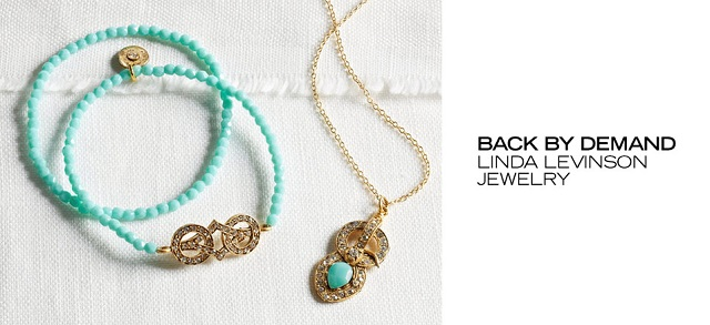 Back by Demand Linda Levinson Jewelry at MYHABIT