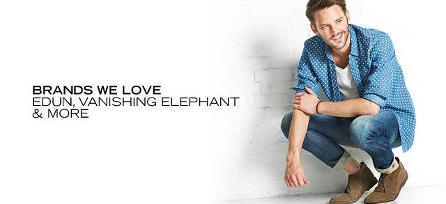 Brands We Love Edun, Vanishing Elephant & More at MYHABIT
