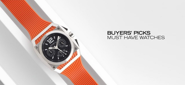 Buyers' Picks Must-Have Watches at MYHABIT