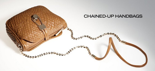 Chained-Up Handbags at MYHABIT