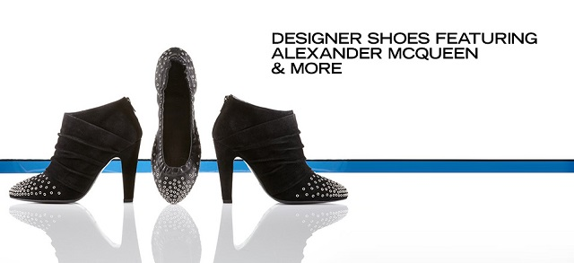 Designer Shoes ft. Alexander McQueen & More at MYHABIT