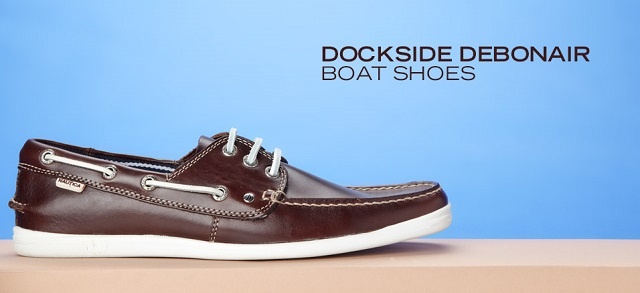 Dockside Debonair Boat Shoes at MYHABIT
