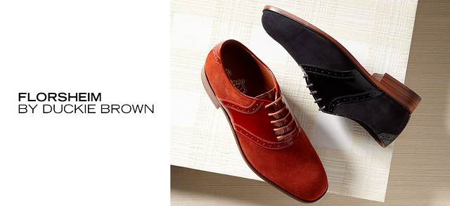 Florsheim by Duckie Brown at MYHABIT