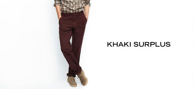 Khaki Surplus at MYHABIT