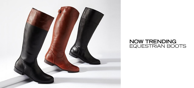 Now Trending Equestrian Boots at MYHABIT