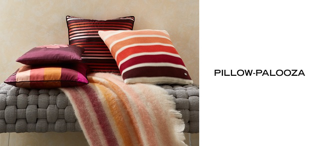 Pillow-Palooza Up to 80 Off at MYHABIT