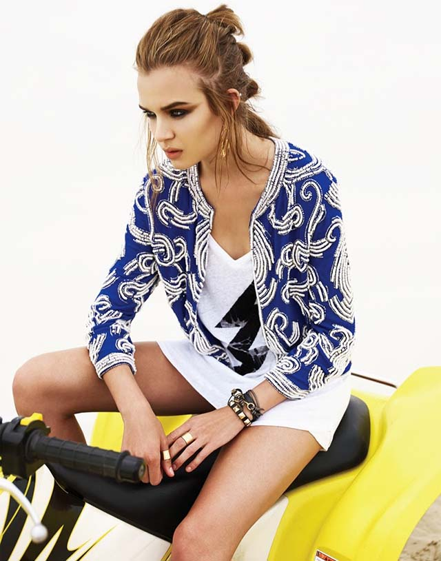 Revolve Clothing Pre-Fall 2013 Lookbook by Josephine Skriver_8