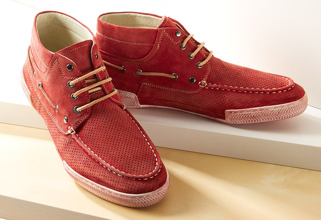 Rogue Trouble Maker Suede Boat Chukka Boot