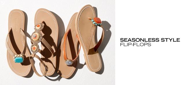 Seasonless Style Flip-Flops at MYHABIT