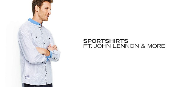 Sportshirts ft. John Lennon & More at MYHABIT