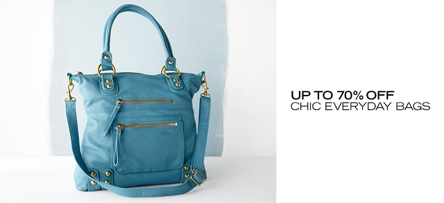 Up to 70 Off Chic Everyday Bags at MYHABIT