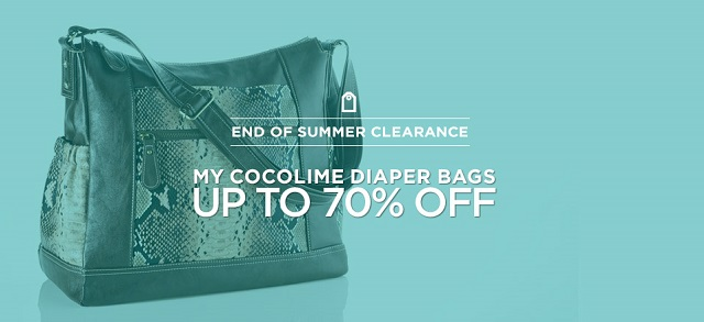Up to 70 Off My Cocolime Diaper Bags at MYHABIT