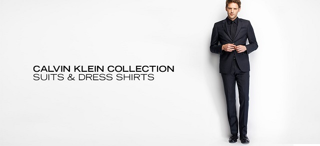 Calvin Klein Collection Suits & Dress Shirts at MYHABIT