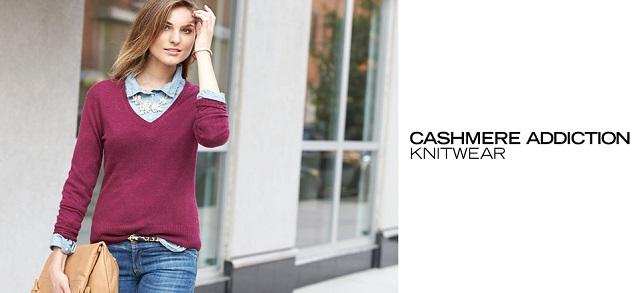 Cashmere Addiction Knitwear at MYHABIT