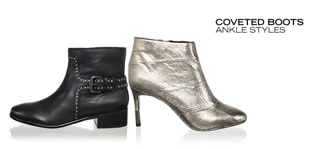 Coveted Boots Ankle Styles at MYHABIT