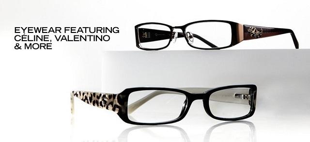 Eyewear ft. Céline, Valentino & More at MYHABIT