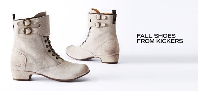 Fall Shoes from Kickers at MYHABIT