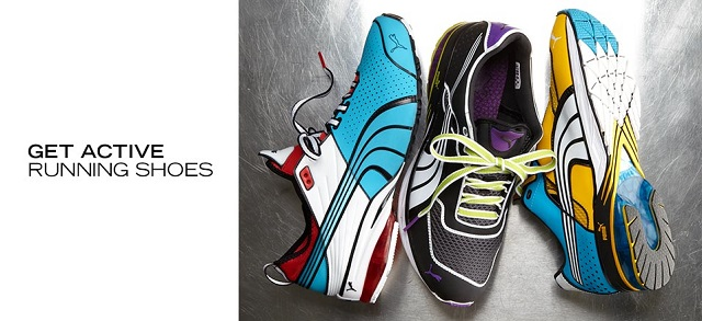 Get Active Running Shoes at MYHABIT
