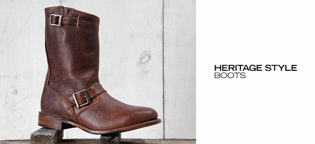 Heritage Style Boots at MYHABIT