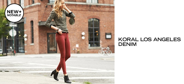 Koral Los Angeles Denim at MYHABIT