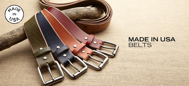 Made in USA Belts at MYHABIT
