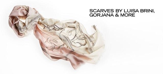 Scarves by Luisa Brini, gorjana & More at MYHABIT