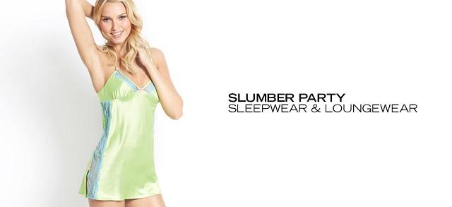 Slumber Party Sleepwear & Loungewear at MYHABIT