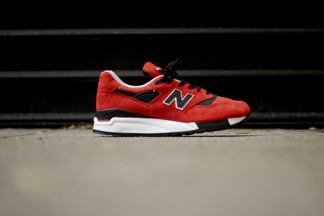 New Balance M998 - Red/Black