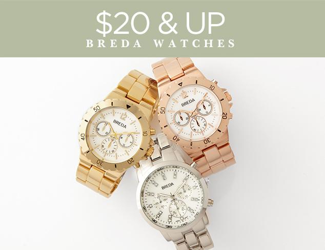 $20 & Up Breda Watches at MYHABIT
