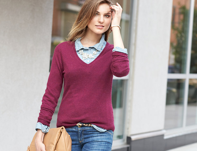 Cashmere Addiction Sweaters & Dresses at MYHABIT