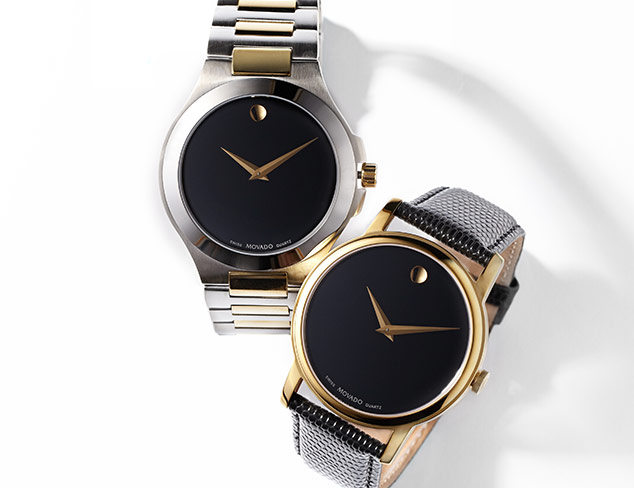 Classic Timepieces Movado, Tissot & More at MYHABIT