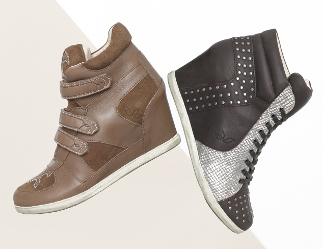 Higher Ground Wedge Sneakers at MYHABIT