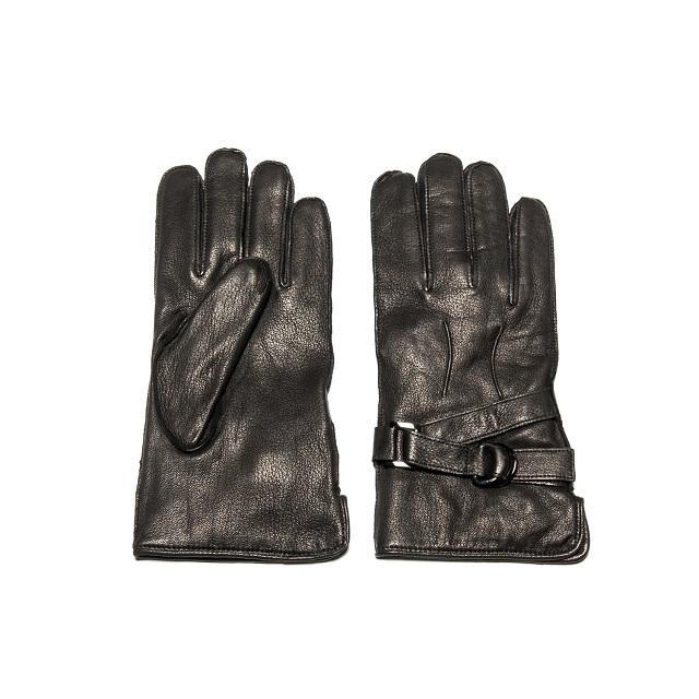 Portolano Deerskin Glove With Buckle_2