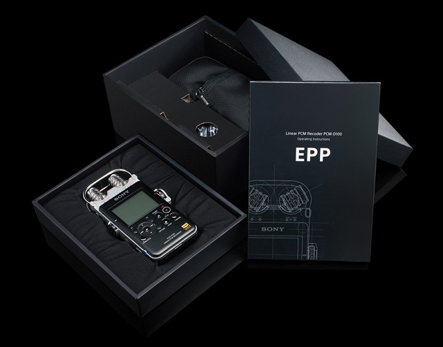 SONY PCM-D100 Portable High Resolution Audio Recorder_2