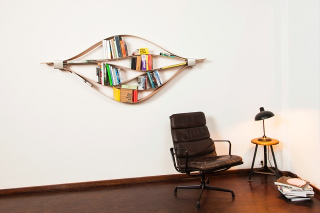 Hafriko Chuck Flexible Wooden Bookshelf