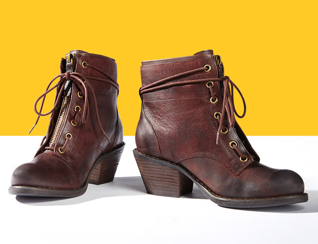 Luxury Rebel Women's Barret Lace-Up Boot