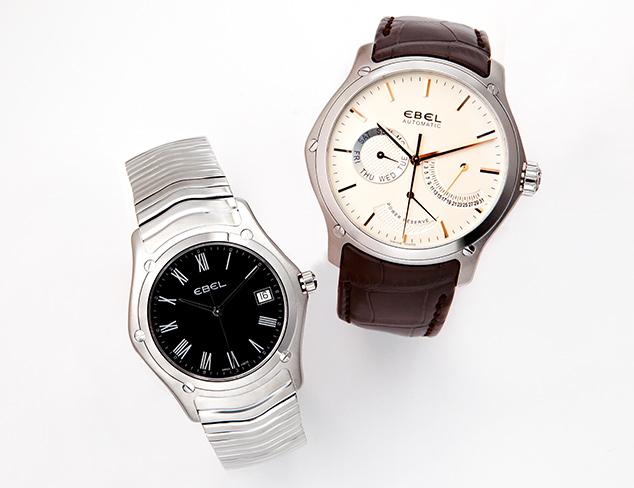 Luxury Watches feat. Ebel at MYHABIT
