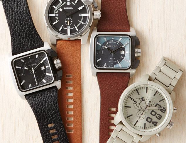 Essential Watches feat. Diesel at MYHABIT