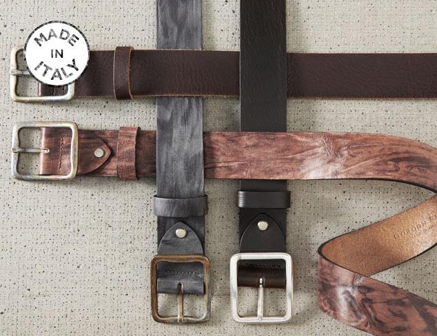 Made in Italy Gordon Rush Belts at MYHABIT