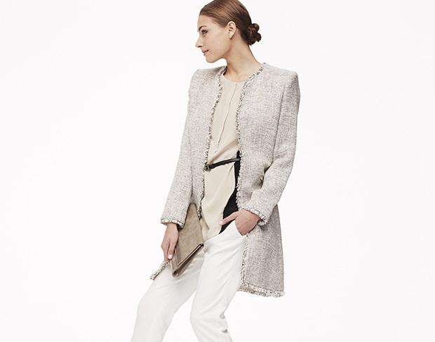 Magaschoni Women's Long Sleeve Jacket